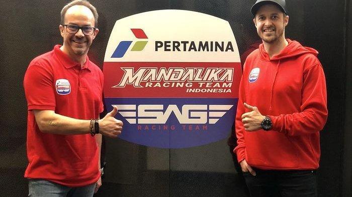 Mandalika Racing Team Indonesia Gabung SAG Racing Team Jelang Moto2 2020