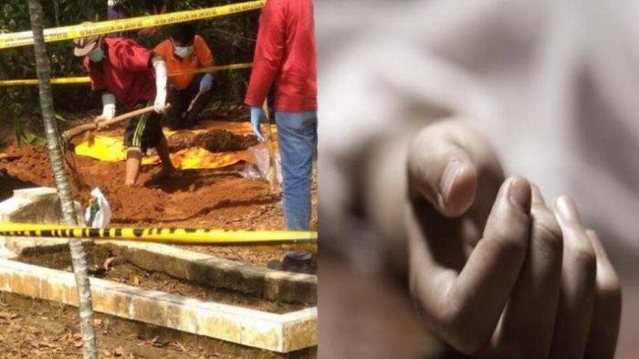 Pinjam Cangkul Warga Dalih Kubur Kucing, Orangtua Ini Ternyata Kubur Jasad Anaknya yang Baru Dibunuh