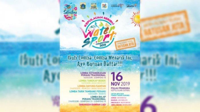 Pulau Seribu Gelar Water Sport Competition, Diprediksi 2 Ribu Wisatawan Hadir dalam 2 Hari