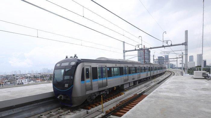 MRT Pastikan Stasiun dan Jalur Bawah Aman dari Banjir Selama Musim Hujan