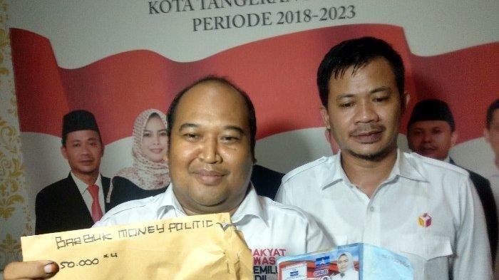 Bawaslu Tangerang Selatan Ungkap Politik Uang Bermodus Formulir C6 Disertai Uang dan Kartu Nama