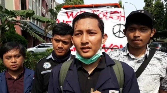 Dema UIN Jakarta Tegaskan Tolak UU Cipta Kerja