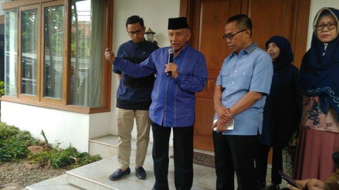 Kabar Amien Rais: Ingin Klarifikasi Pertemuan MRT ke Prabowo dan Berikan Waktu 5 Tahun Kepada Jokowi