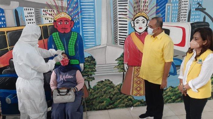 Antisipasi Lonjakan Kasus Covid-19, DPD Golkar Jaksel Gelar Swab Antigen & Genose Gratis di Bintaro