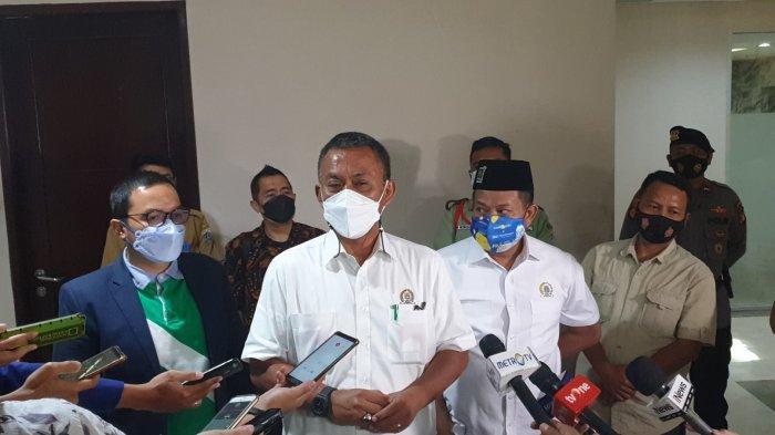 Ketua DPRD DKI Prasetyo Edi Marsudi saat ditemui di gedung DPRD DKI, Senin (15/3/2021).