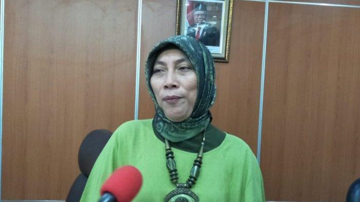 Ketua Komisi D DPRD DKI Jakarta Ida Mahmudah saat ditemui di Gedung DPRD DKI, Kebon Sirih, Jakarta Pusat, Senin (11/11/2019).