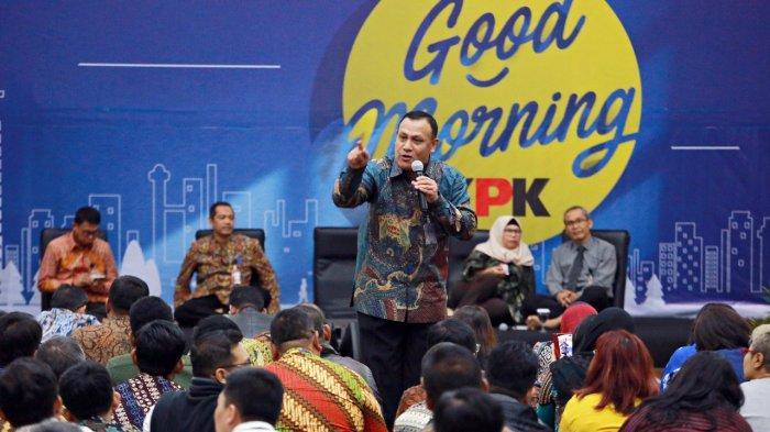 Arahan Perdana Firli Bahuri untuk Seluruh Pegawai Komisi Pemberantasan Korupsi