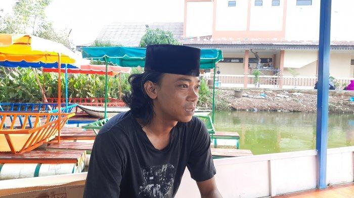 Ketua KPPL Bojong Menteng selaku pengelola objek wisata Situ Rawa Gede, Rawalumbu, Kota Bekasi, Krisdayadi.