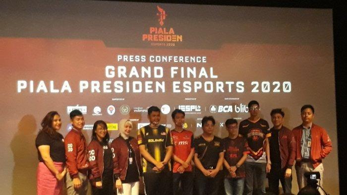 Final Piala Presiden Esports 2020 di ICE BSD Tangerang: Ajang Pembuktian Tim Esports Indonesia