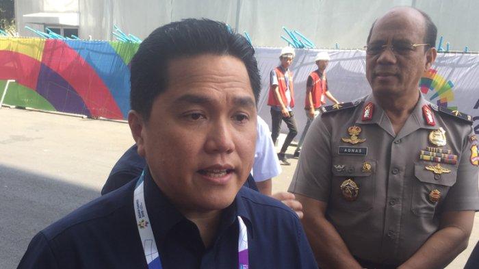 Erick Thohir Sarankan Bentuk Tim Persiapan Tuan Rumah Olimpiade Tahun Depan