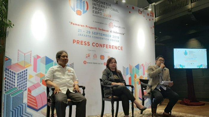 Pameran Properti IIPEX 2019 Kolaborasi PT Dyandra Promosindo, REI, dan Rumah.com