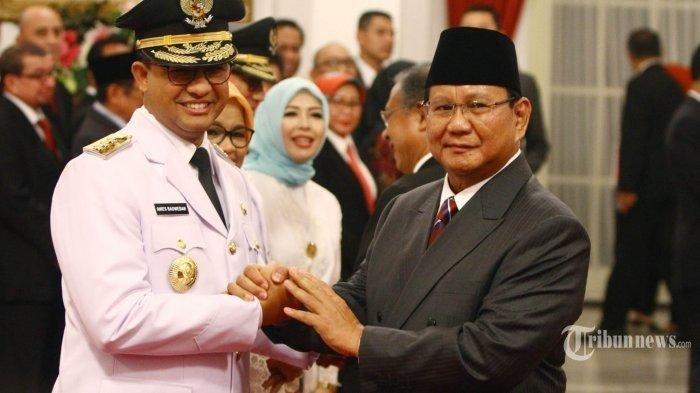Prabowo-Anies Terlibat Diskusi, Hubungannya Dikabarkan Tak Harmonis Lagi: Bahas Pilkada DKI?