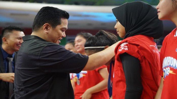 Erick Thohir Minta Pemain DBL Untuk Serius Jadi Atlet