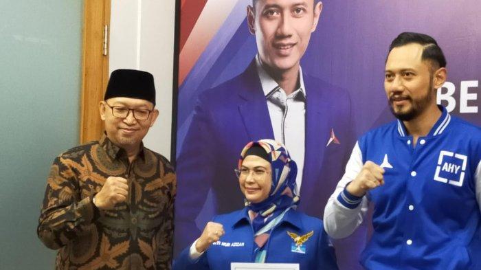 Putri Wapres Tegas Dukung AHY, Ogah Akui Moeldoko Sebagai Ketum Hasil KLB Demokrat di Sumut