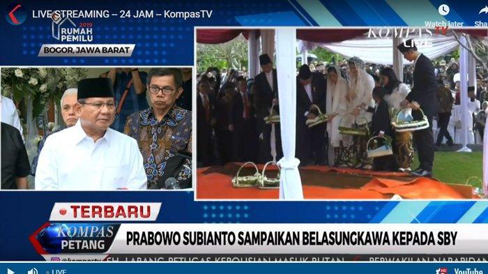 Cerita Prabowo soal Sosok Ani Yudhoyono, Ungkap Rencana yang Belum Terlaksana: Ternyata Terlambat