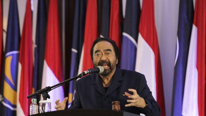 Gerindra Masuk Kabinet, Surya Paloh: Kalau Tak Ada yang Mau Jadi Opsisi, NasDem Saja