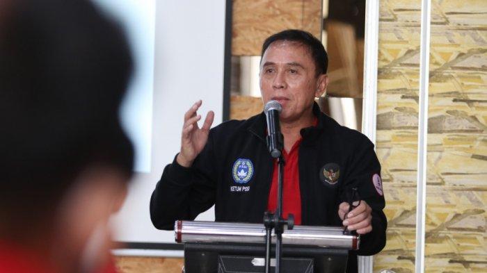Ketua Umum PSSI, Mochamad Iriawan memberikan sambutan dalam acara pelepasan pemain Timnas U-16 Indonesia