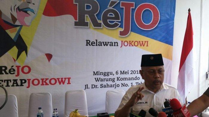 Sosok Darmizal yang Ngebet Dukung Moeldoko, Dipecat Partai Demokrat, Jadi Relawan Jokowi