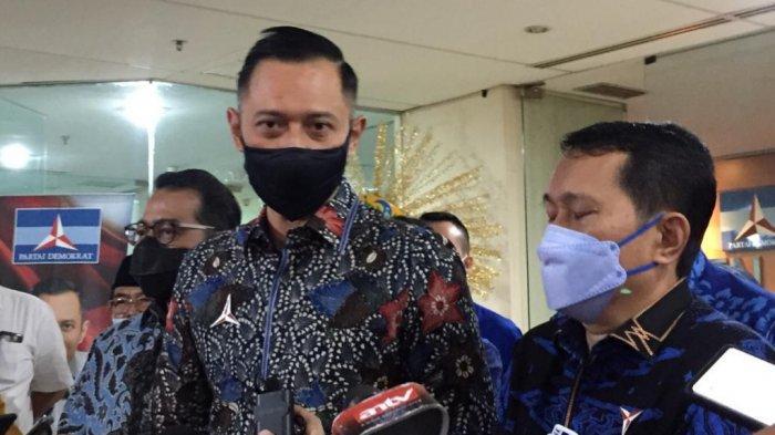 Sambangi Fraksi Demokrat DPRD DKI, AHY: Baru Kali Ini Ketum Partai Datang