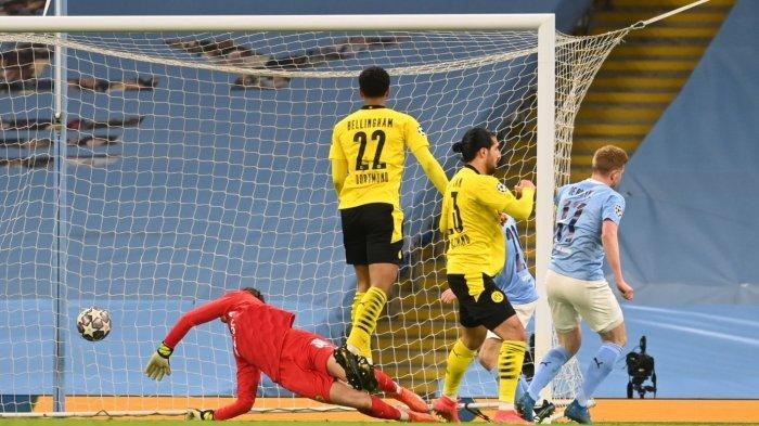 Hasil Liga Champions: Man City Pecundangi Borussia Dortmund 2-1