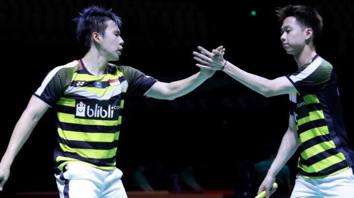 Marcus/Kevin Melaju ke Perempat Final Singapore Open Usai Kalahkan Wakil China