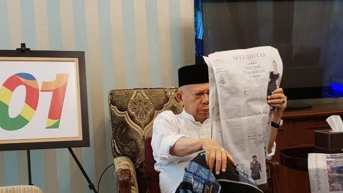 Ma'ruf Amin: Kalau Jumatan Bawa Pamflet Ya Tidak Boleh