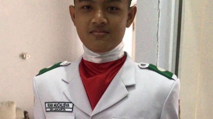Kiandra Muchlisya Zaenal Arifin, anggota Paskibraka 2021