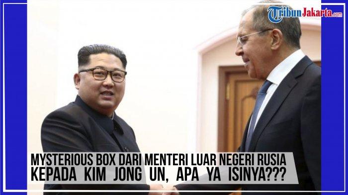 Mysterious Box Dari Menteri Luar Negeri Rusia Diberikan Kepada Kim Jong Un, Apa Ya Isinya?