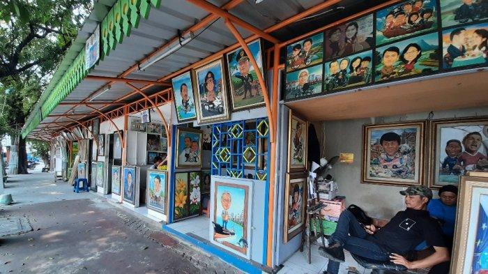 Seniman Lukis di Pasar Baru Butuh Perhatian Pemprov DKI