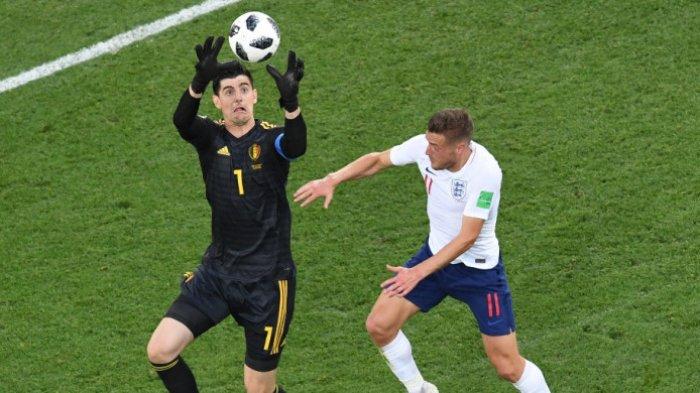 Gagal Antarkan Belgia ke Final Piala Dunia,Thibaut Courtois Tetap Layak Dapat Sarung Tangan Emas