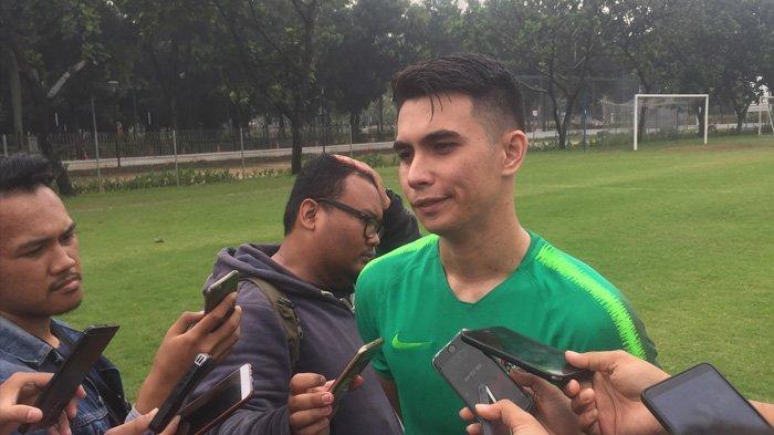 Gabung Timnas U-22, Nadeo Argawinata Tak Minder Bersaing dengan Kiper Top Lainnya