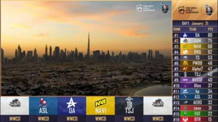 BERLANGSUNG Live Streaming Grand Final PMGC PUBG Mobile Global Championship, BTR RA Bangkit?