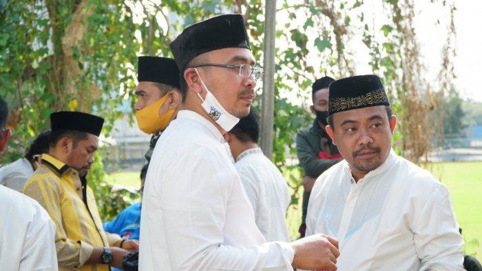 DPP KNPI Gelar Solat Iduladha 1441 H, Potong Puluhan Hewan Kurban dan Santuni Anak Yatim