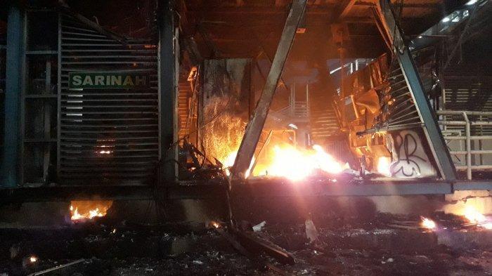 46 Halte Rusak Imbas Demo, Transjakarta Diperkirakan Merugi Rp 65 Miliar