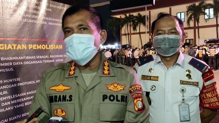 Malam Ini Petugas Gabungan Lakukan Operasi Yustisi di Jalan Komjen Pol M Jasin Depok