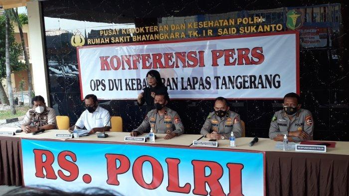Tak Hanya Polisi, Tim DVI Kebakaran Lapas Tangerang Beranggotakan Ahli dari Puskes TNI Hingga Dosen