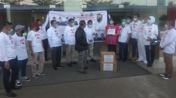 Jadi Rumah Sakit Rujukan, RSUD Kabupaten Tangerang Terima Ribuan APD Dari Komisi IX DPR RI