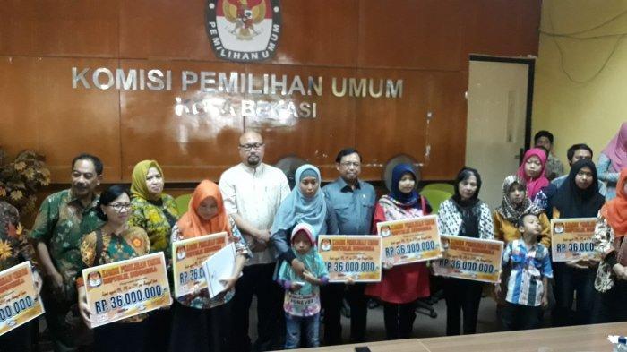 4 dari 14 Ahli Waris Anggota KPPS di Jakarta Timur Sudah Terima Dana Santunan