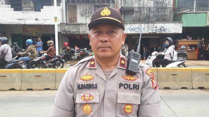 Kapolsek Jatinegara Kompol Darmo Suhartono saat ditemui di Kampung Pulo, Jumat (3/1/2020).
