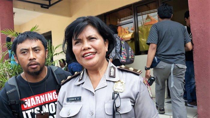 Kasubag Humas Polres Metro Bekasi Kota Kompol Erna Ruswing Andari.