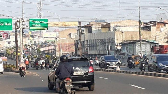 DKI Jakarta PSBB Transisi, Arus Lalu Lintas dari Tangsel Menuju Ibu Kota Ramai Lancar