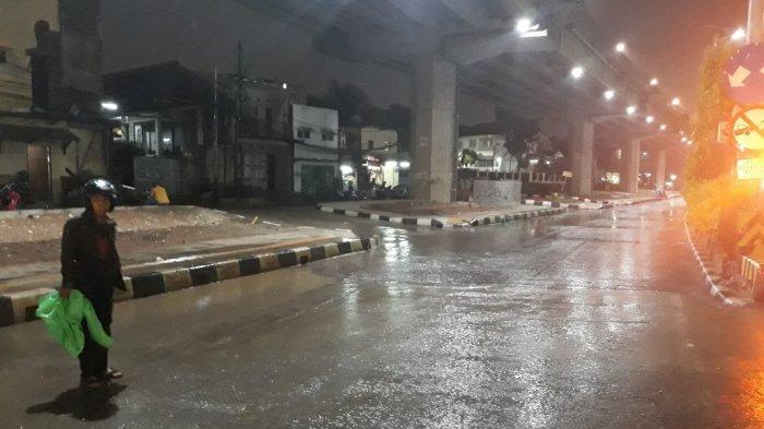 Malam Tahun Baru 2020 Ibu Kota Diguyur Hujan, Jaksel hingga Jakut Terendam Banjir