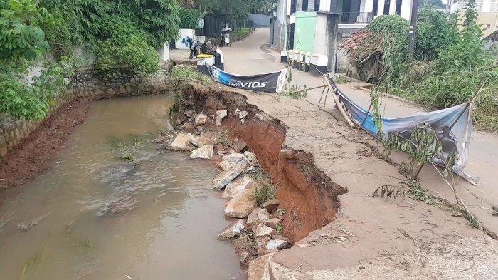 Kaleidoskop 2020, Kota Depok Banjir dan Tanah Longsor Hingga Renggut 4 Nyawa