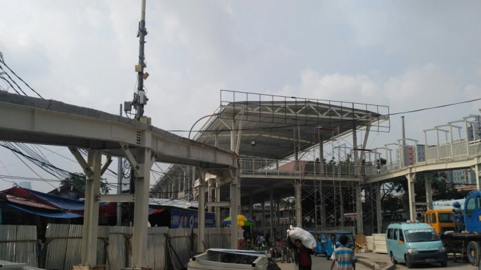 PD Sarana Jaya Belum Pastikan Kapan Skybridge Bisa Sepenuhnya Digunakan