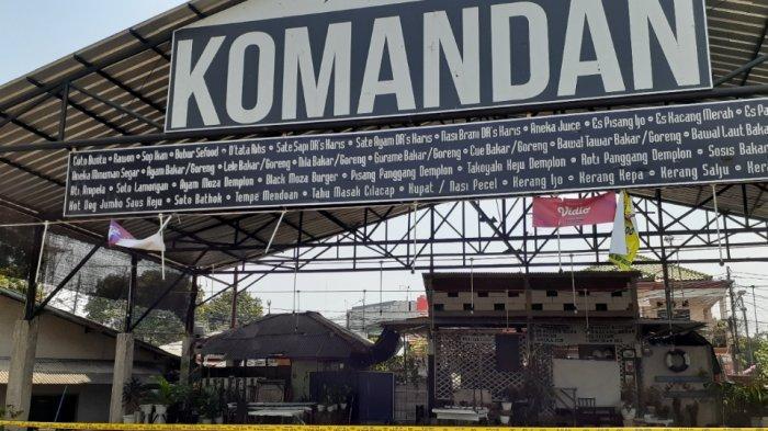 Kafe Nobar PSM di Tebet Diserang, Juru Parkir: Untung Banyak Meja Buat Tameng