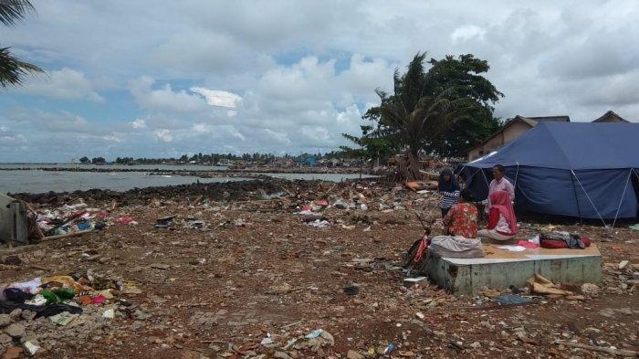 Bantuan Logistik Terpenuhi, Warga Terdampak Tsunami Banten Bingung Cari Pekerjaan
