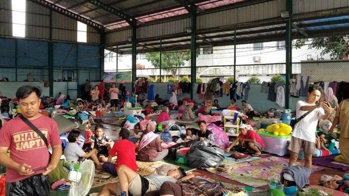 Derita Pengungsi Banjir 3 meter Selama 3 Hari di Tangerang, Balita 29 Bulan Kejang-kejang