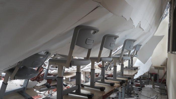 Atap SMKN 24 Jakarta Ambruk: Baru Rehab Miliaran Rupiah, Sudah Ada Tanda-tanda Kerusakan