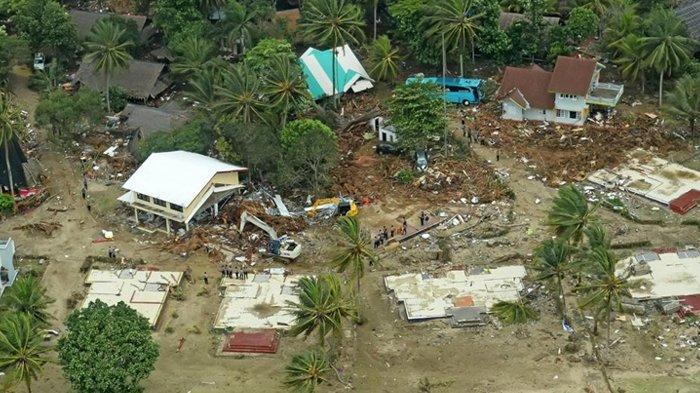 Tim SAR Gabungan Baru Jangkau 1 dari 7 Desa di Kecamatan Sumur Pasca Tsunami Selat Sunda