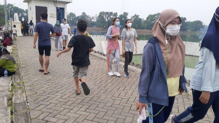 PPKM Level 3 di Tangerang Selatan: Ramai Diserbu Pengunjung, Situ Gintung Tidak Ditutup